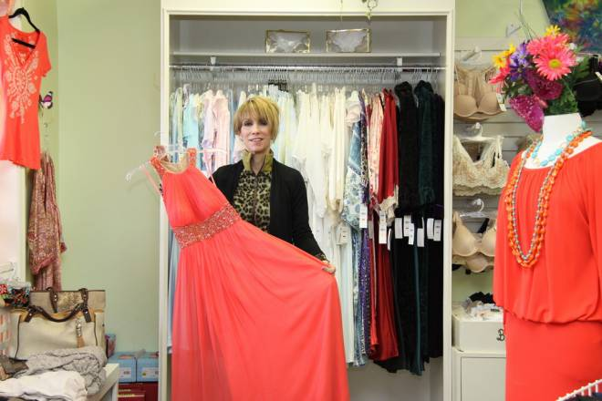 Elaine Felag of Feminine Fancies in Barrington
