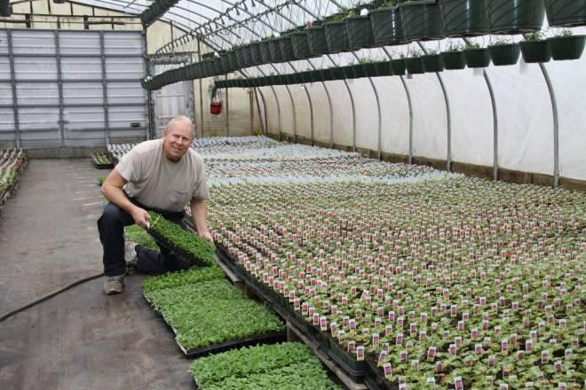 David Frerich at Frerichs Farm in Warren
