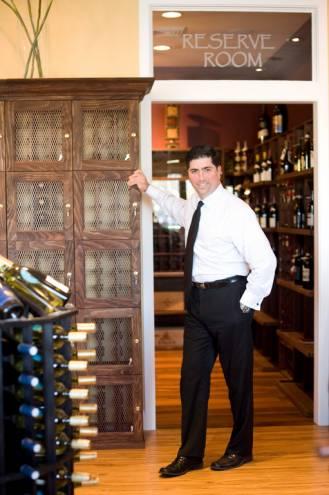 Matt Amaral owns Grapes and Grains in Barrington