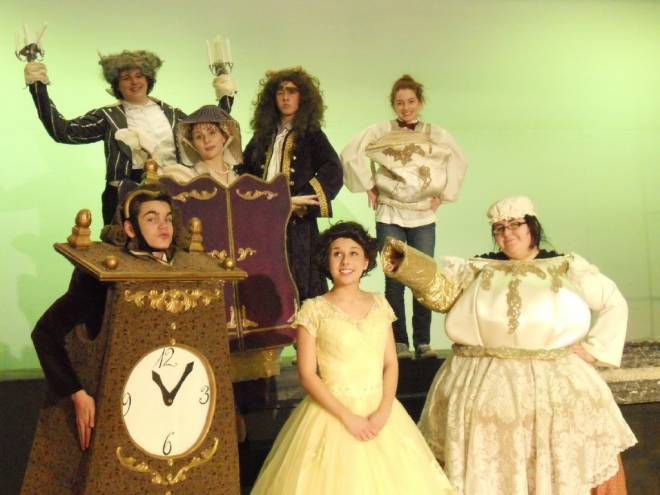 Beauty and the Beast plays at Mount Hope High School May 3-5