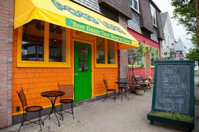 Poco Loco Tacos, which started as a food truck, recently opened a permanent storefront in Cranston's Pawtuxet Village