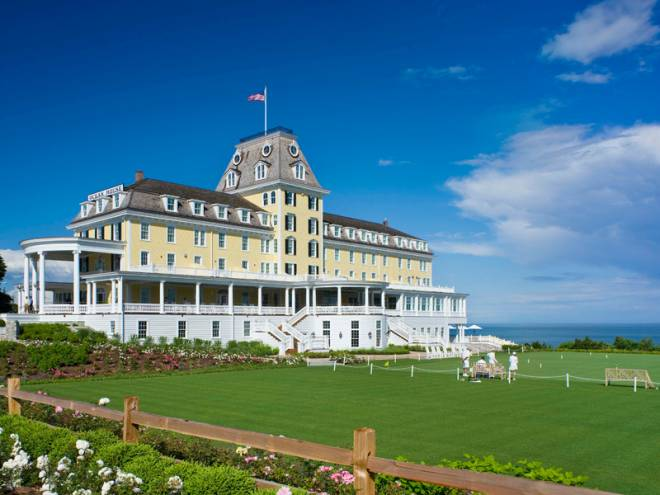 Watch Hill's Ocean House resort is a grand example of the town's history