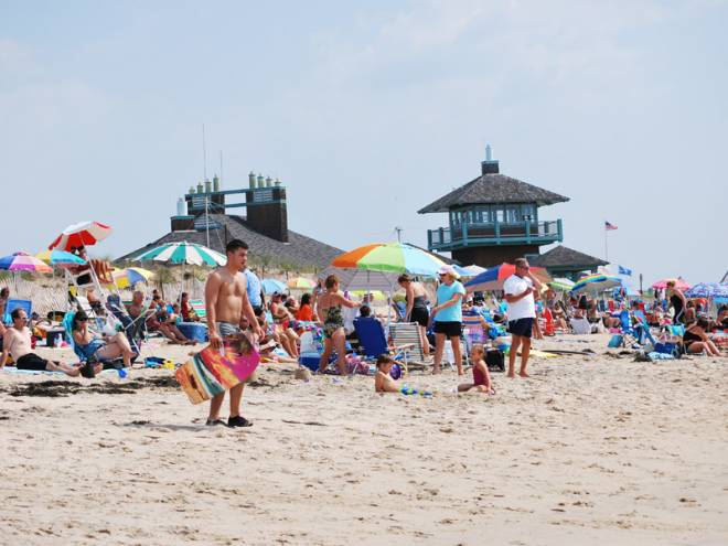Westerly's Misquamicut Beach area is one of the state's biggest and most popular