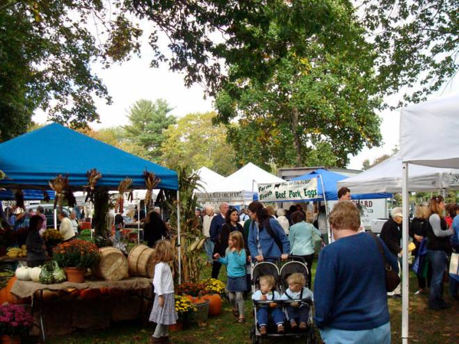 The East Greenwich Farmer's Market is Mondays at Academy Field