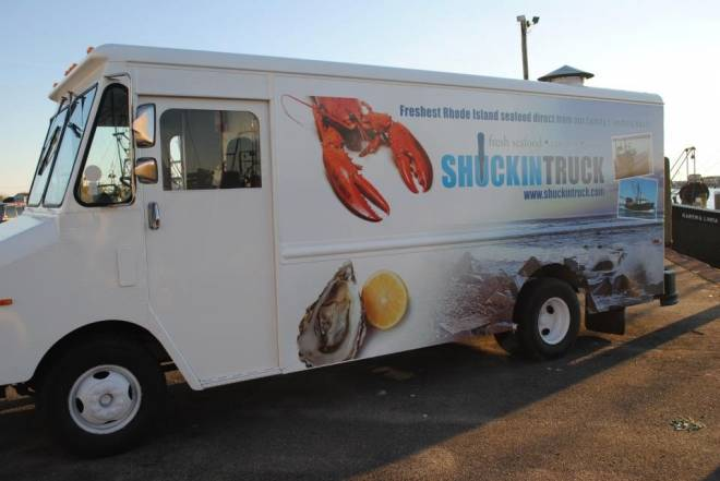 The new Shuckin' Truck serves raw bar on the go in Narragansett