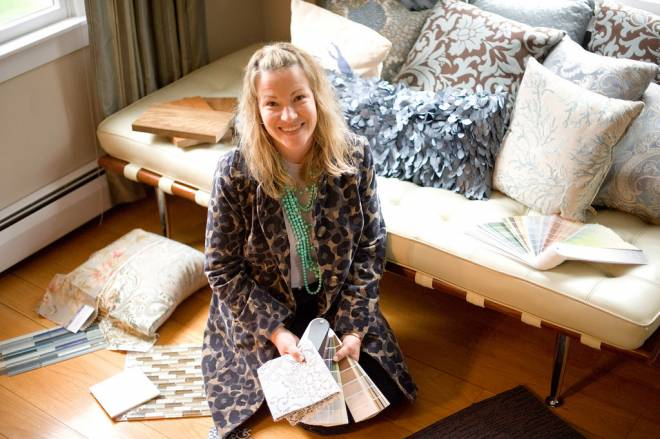 Interior designer Kim Norton O'Brien