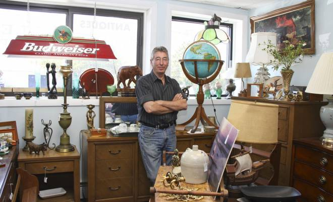 Hamish Gunn owns the Finer Consigner in Middletown