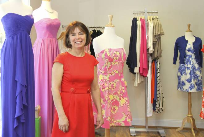 Lois Hollingsworth owns Zuzu's Petals in Barrington