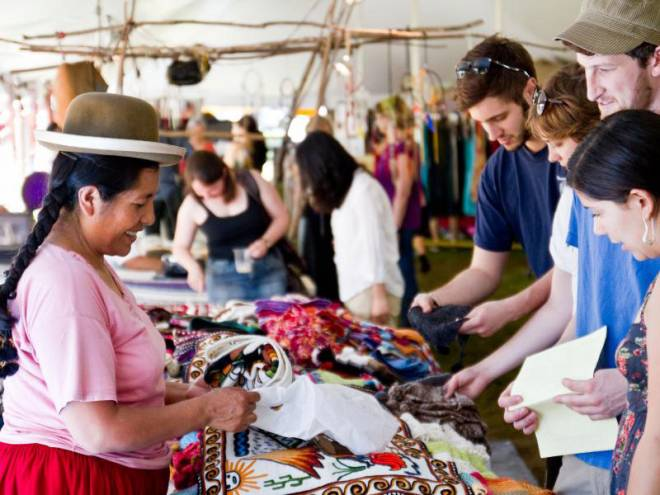 The Cultural Survival Bazaar returns to Tiverton July 14-15