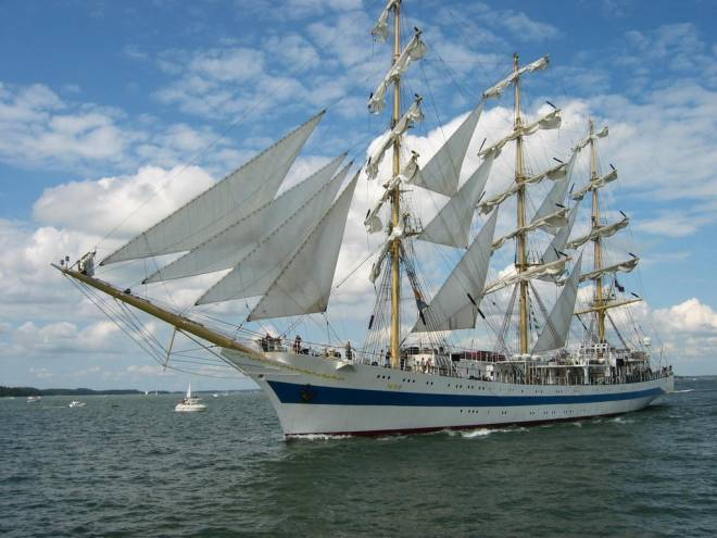 The Tall Ships return to Newport, July 6-9