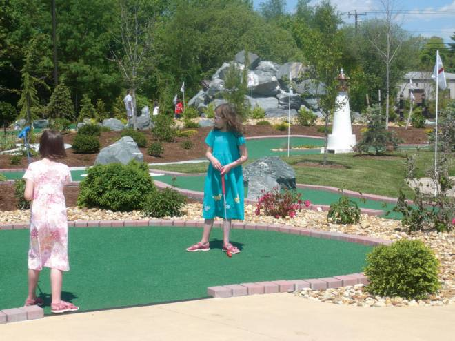 Have a fun outing with the kids at Seekonk Driving Range