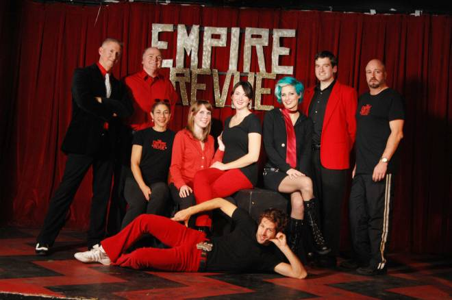 The Empire Revue takes the stage at AS220 this Sunday
