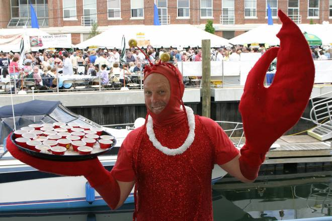 The Great Chowder Cook-off returns to Newport this weekend