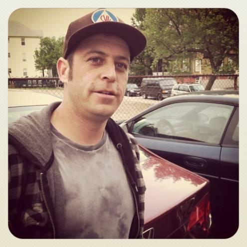 Skateboarder and social activist Pete Dorrance