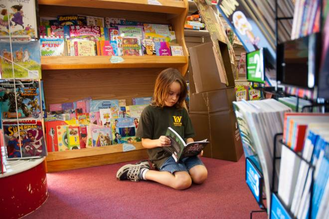 Keep kids reading all summer at Books on the Square