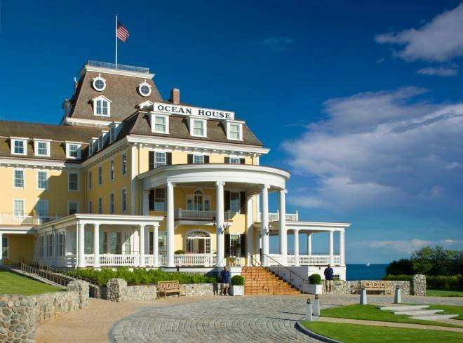 The Ocean House in Watch Hill celebrates Independence Day and Bastille Day in July