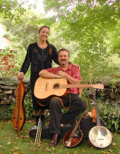 Folk duo Atwater-Donnelly plays Tiverton's Sandywoods Center for the Arts on January 12