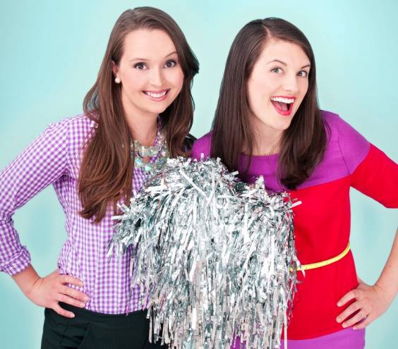 The PVD Lady Project (Sierra Barter and Julie Sygiel) wins our 2012 Superlative for Biggest Cheerleaders