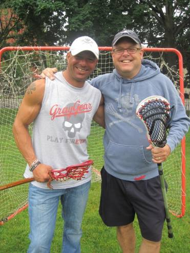 Peter Moubayed and Steve Danyla of Grey Gear sports wear