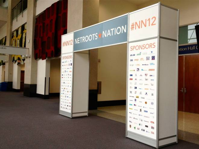 Netroots Nation conference took place in the RI Convention Center