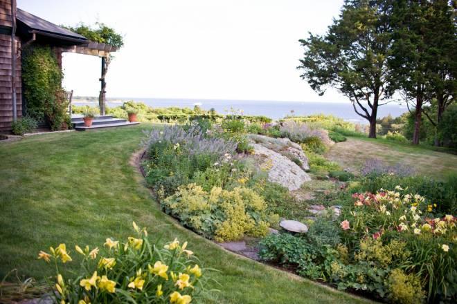 Carlotta Parsons' Jamestown garden