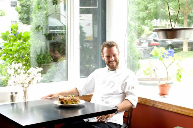 Eli Dunn is head chef at the Beehive Cafe in Bristol
