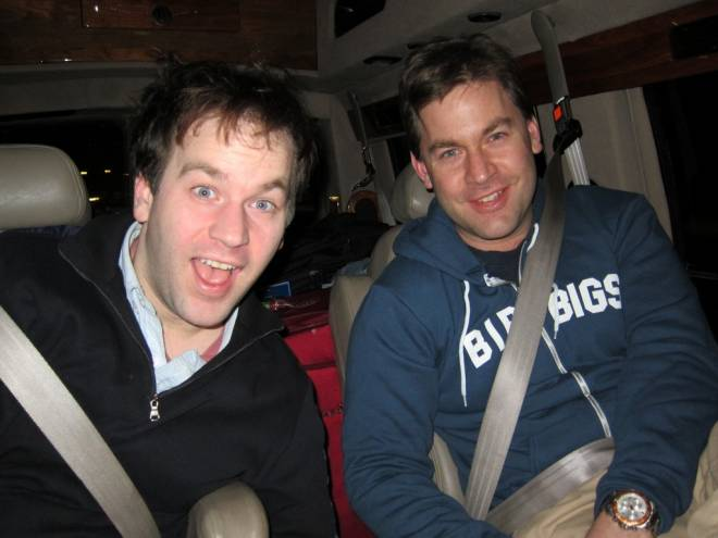 Mike and Joe Birbiglia on tour in PA