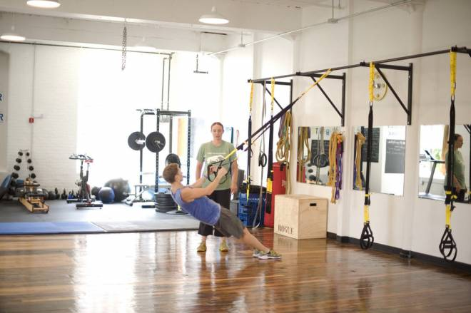 PE Fitness Studio at Pawtucket's Hope Artiste Village