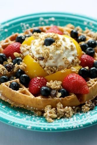 Rose Window Waffle