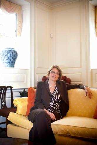 Brown University's 19th president, Christina Hull Paxson