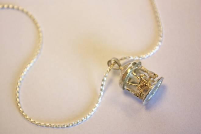 James Gerrad Jewelers' carousel pendant
