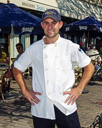 Raymond Scarpone is the kitchen manager at Bravo Brasserie