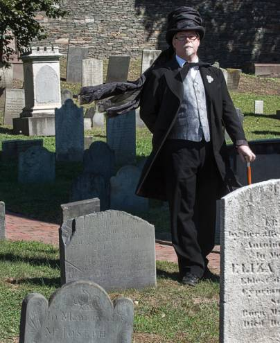 Rory Raven leads historic Providence Ghost Walks