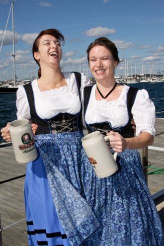 There's no better way to celebrate fall than with Newport's International Oktoberfest.