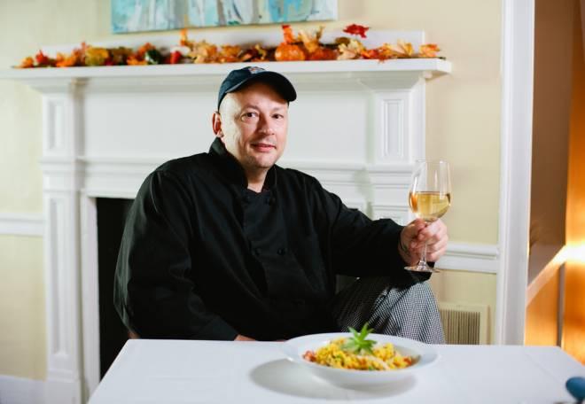 Chef Peter Devine of Simply Devin in Warren