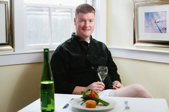 Chef Matthew Rooney of Black Bass Grille in South Dartmouth