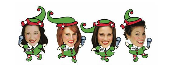 "The ""elves"" of Ocean State Theatre Company's Winter Wondrettes"
