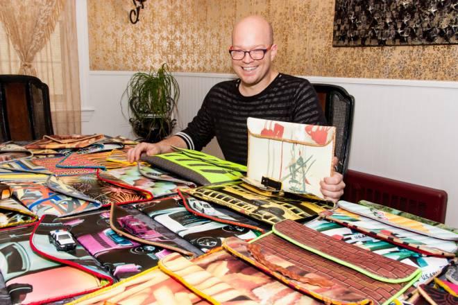 Handbag designer Kent Stetson