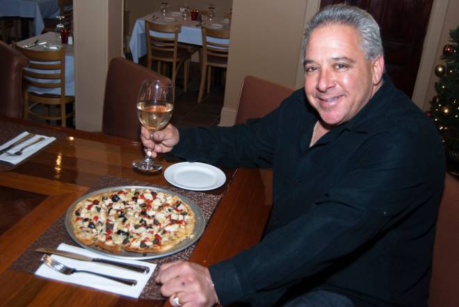 Andy Merolla, Jr. at his new namesake restaurant