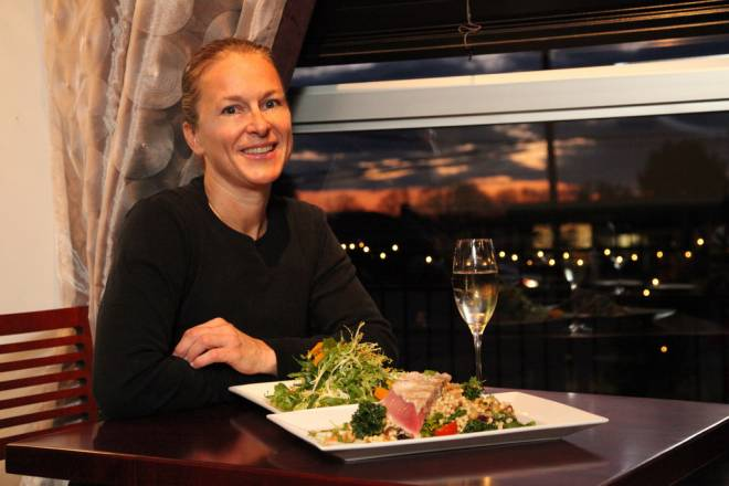 Chef Jeanie Roland of Ella's Fine Food & Drink in Westerly