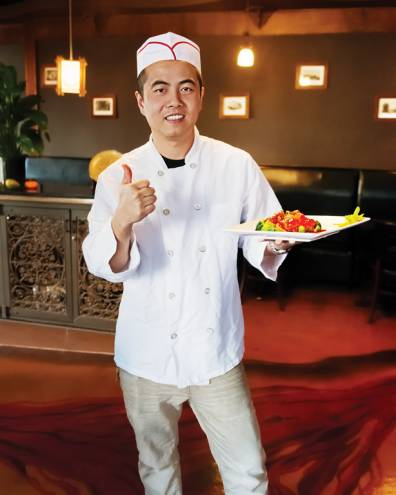Chef Ricky Wu of Veggie Fun