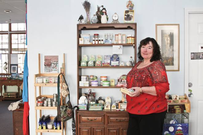 Jody O'Mara owns Luna Sea in Bristol