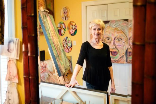 Artist Carol Scavotto