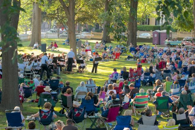 Concerts Under the Elms at the John Brown House Museum