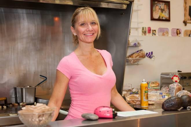 Suzanne White owns Green Eggs in Bristol