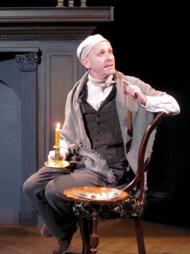 "2nd Story Artistic Director Ed Shea as Antonio Salieri in ""Amadeus"""