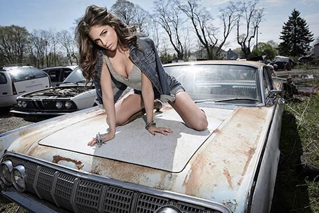 Olivia Culpo photographed by Rob Van Petten
