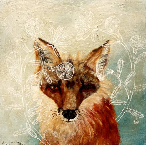 "Anne Siems' piece ""Fox Plant"" available on Tiny Showcase"