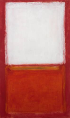 Mark Rothko, Untitled, 1954. Museum purchase in honor of Daniel Robbins: The Chace Fund, The Collectors' Acquisition Fund, Georgianna Sayles Aldrich Fund, Mary B. Jackson Fund, Walter H. Kimball Fund, Jesse Metcalf Fund, Museum Gift Fund, and gifts of Mrs. George Harding, Mrs. Lewis Madeira, Mrs. Malcolm Farmer, Mrs. Frank Mauran, George H. Waterman III, Mrs. Murray S. Danforth, Mrs. Rus- sell Field, Mrs. Albert Pilavin, Mr. and Mrs. Bayard Ewing, Mr. and Mrs. Tracy Barnes, Mr. and Mrs. Wil- liam Boardman, Mr. and Mrs. Roy Neuberger, Mrs. Lee Day Gillespie, Mr. and Mrs. Carl Haffenreffer, and Richard Brown Baker. On view in the RISD Museum's 20th-Century Galleries.