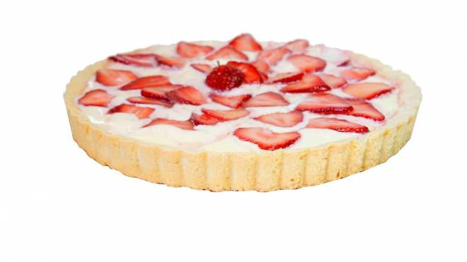 """Sweet CakesThis was the most unique tart of the bunch, and it was what one staffer called """"the best taste test item... of all time."""" That's high praise coming from our SO family. The tart's lemon filling really complemented the fresh, ripe strawberries that sat atop a thin white chocolate layer and a delectable short bread cookie crust. The fresh taste was as sweet as strawberry lemonade on a hot summer day. 1227 Kingstown Rd., Wakefield. 789-5420"""